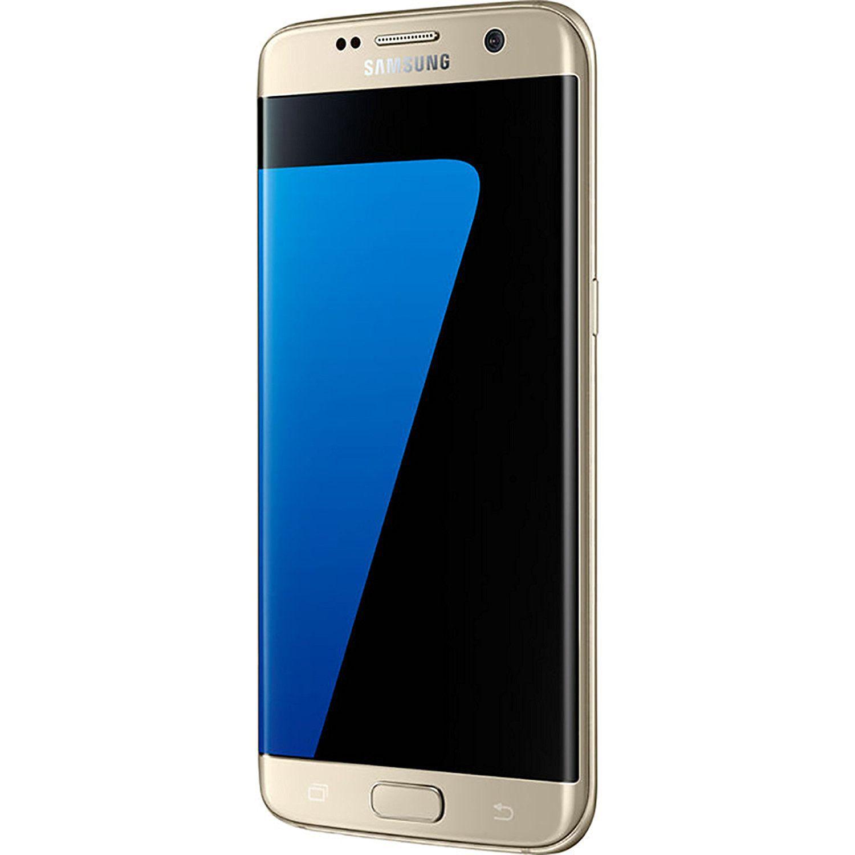 OPEN BOX Samsung Galaxy S7 Edge 32 GB Gold 4 GB RAM 6 Month Brand