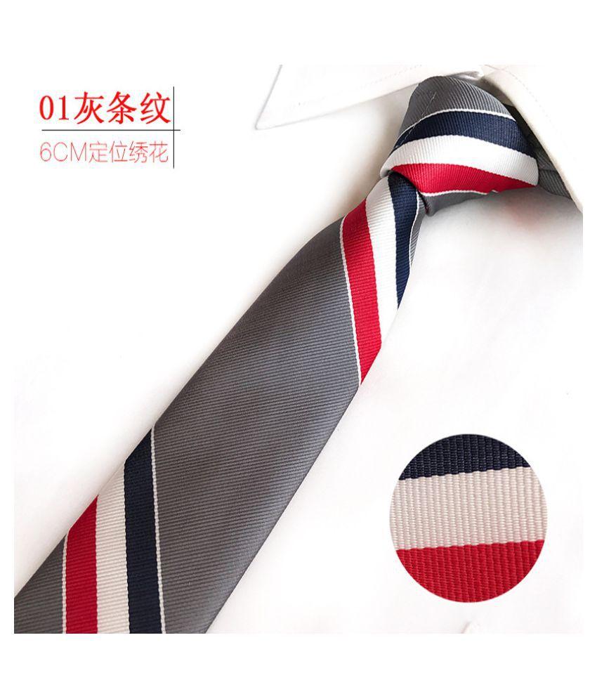 Duomu Multi Animal Print Polyester Necktie