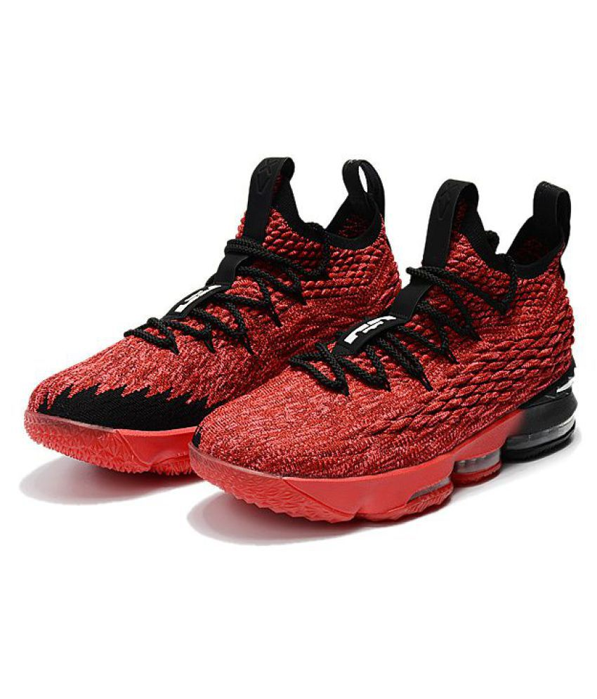 34e0a30ee09 Nike Lebron 15 Pe New Edition 2018 Red Basketball Shoes - Buy Nike ...