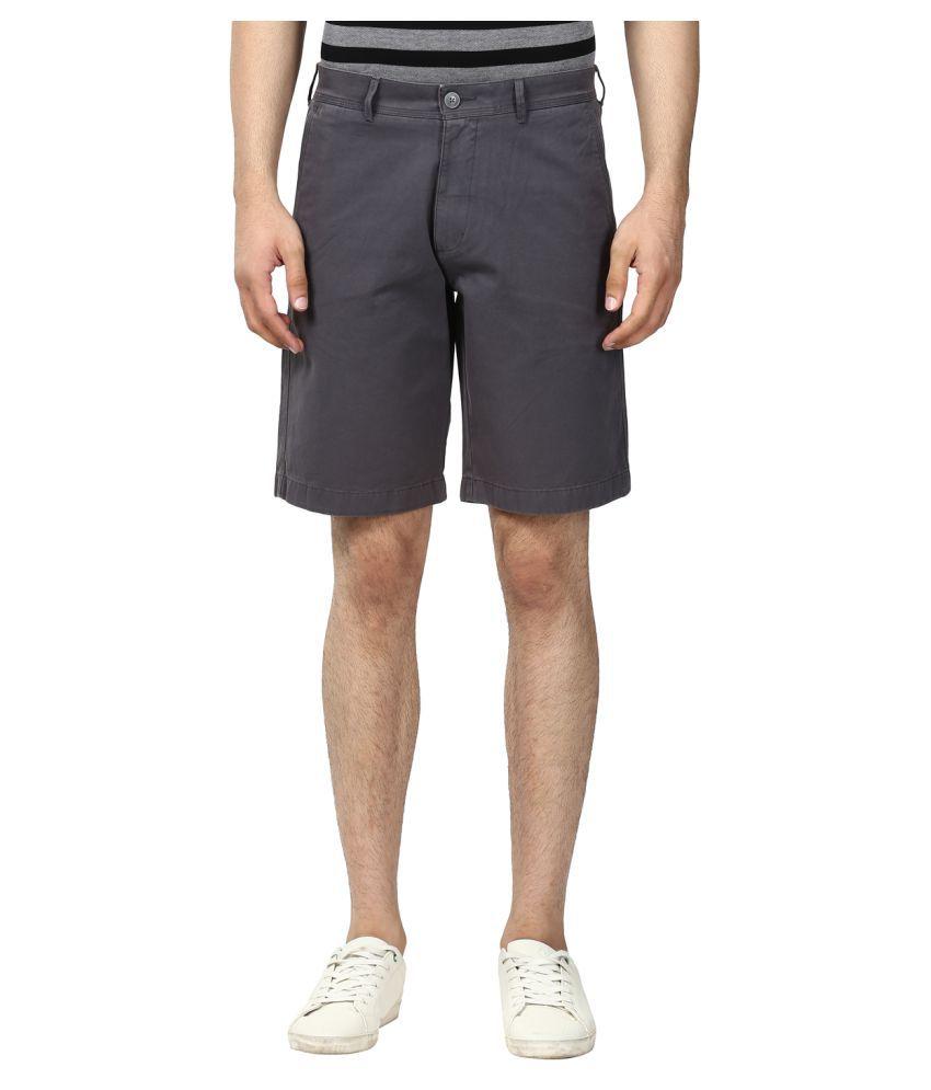 ColorPlus Grey Shorts