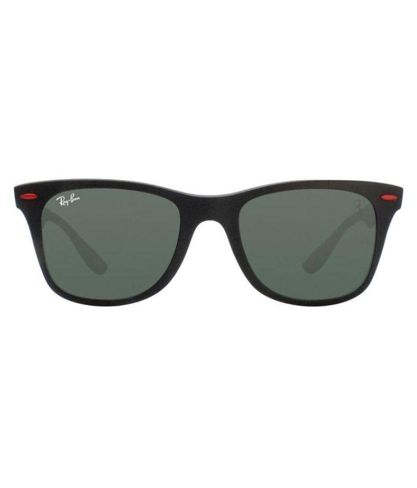2e2bd3dfce97c ... Ray Ban Sunglasses Black Wayfarer Sunglasses ( RB4195M SCUDERIA FERRARI  COLLECTION ) ...