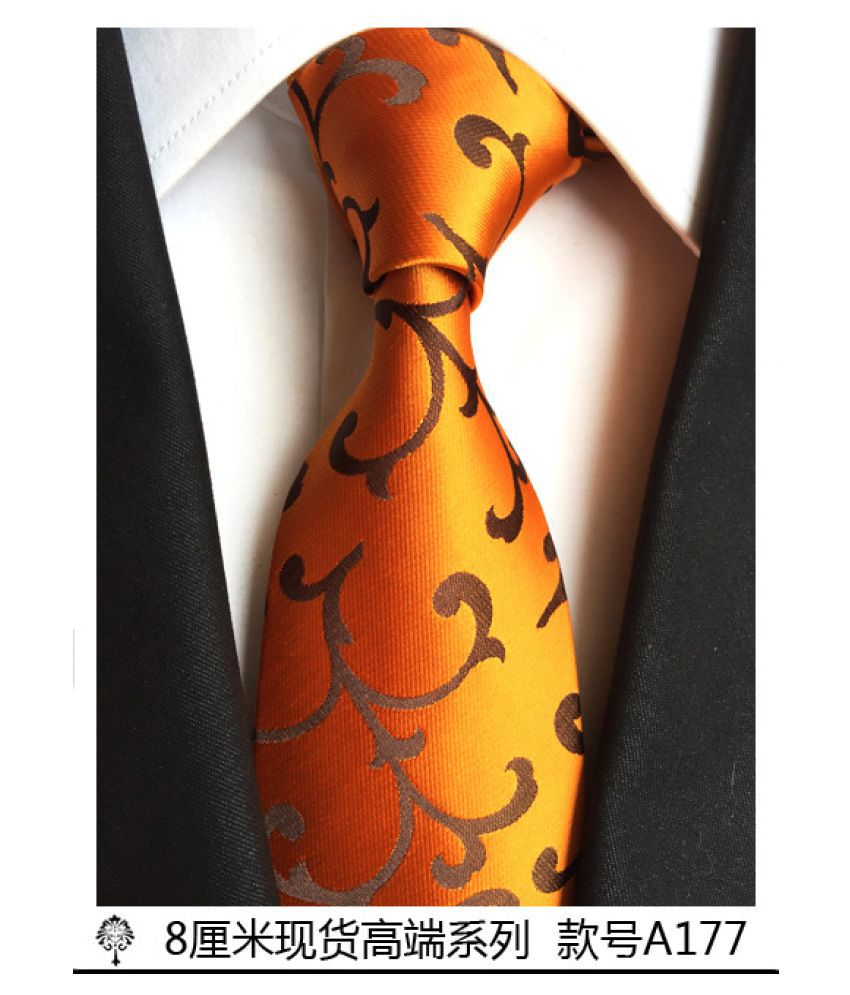 Duomu Multi Printed Polyester Necktie