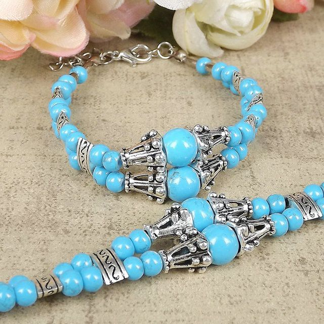Fashion jewelry decorated bead bracelets Tibetan jewelry bracelet S7090 multicolor options