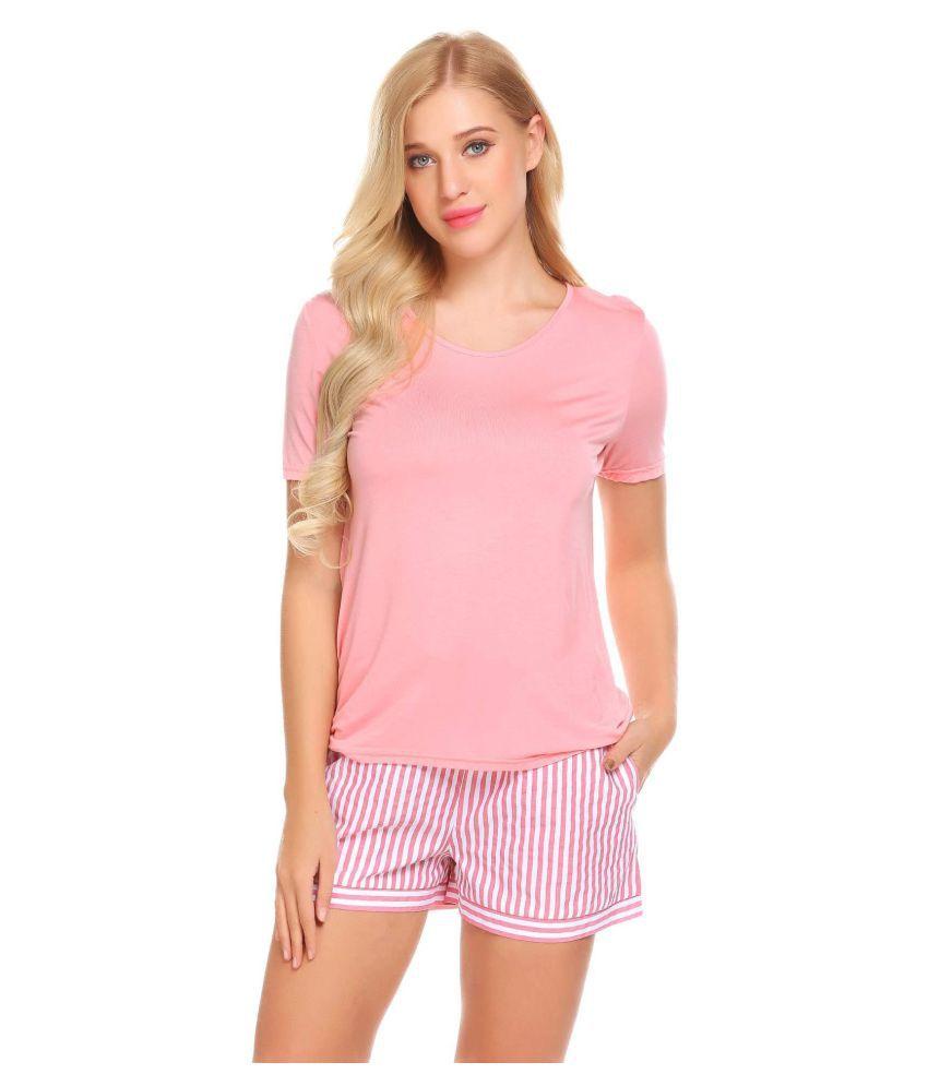 Generic Cotton Pajamas - Black