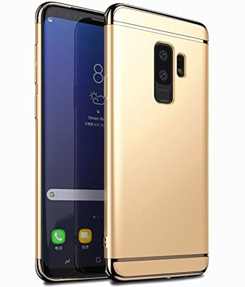 release date 13817 5f700 Samsung Galaxy S9 Plus Hybrid Covers SSS - Golden
