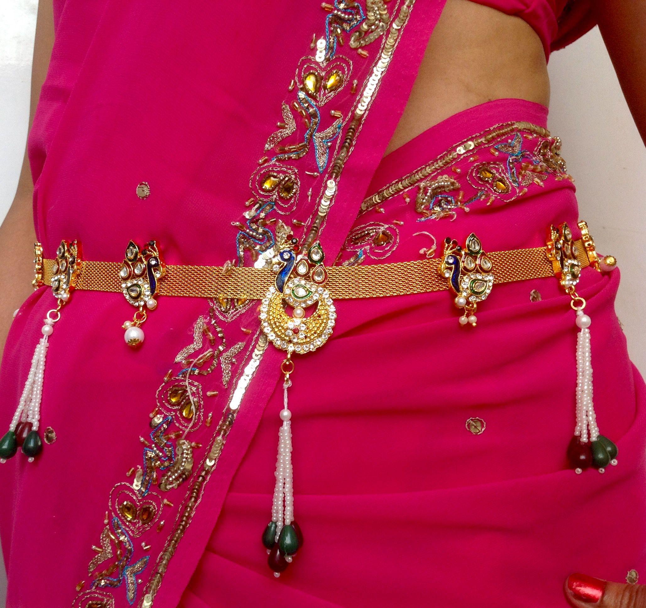 682f50955c3f9 Beautiful peacock design Traditional gold polished kamarpatta, Kamar chain,  tagdi, Kardhani, bellychain, waist chain, hip chain, Kamarband, gold ...