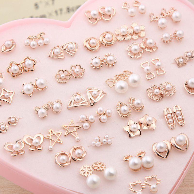 Fashion Pearl Stud Earrings
