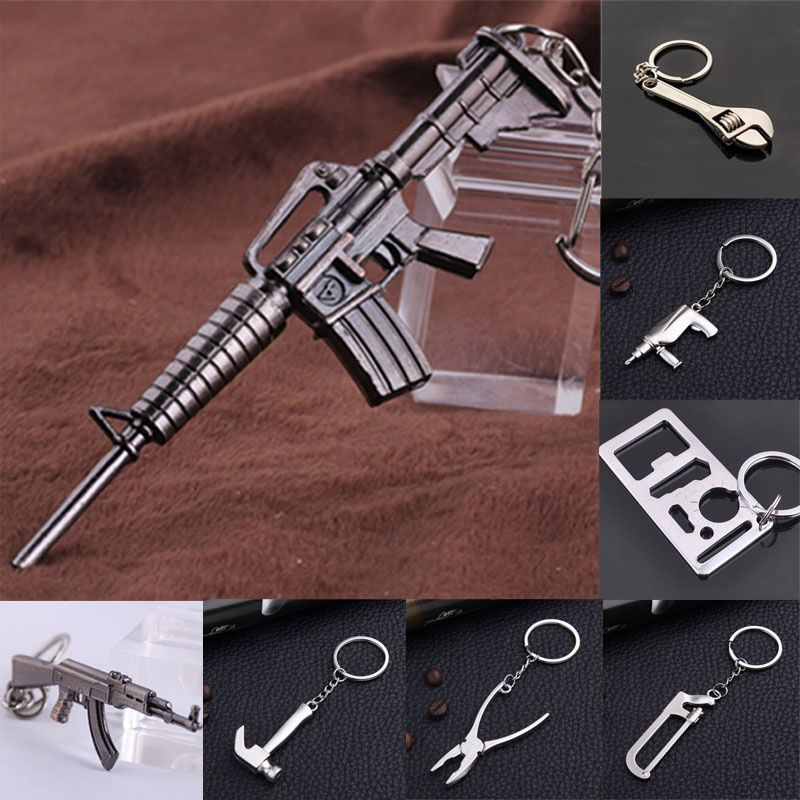 Car Auto Tuning Parts Key Chain Shock Absorber Nos Keychain Keyring