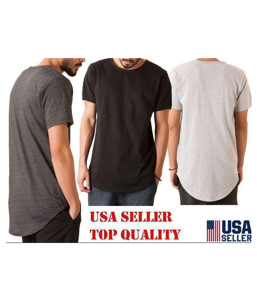 Duomu Off-White Round T-Shirt