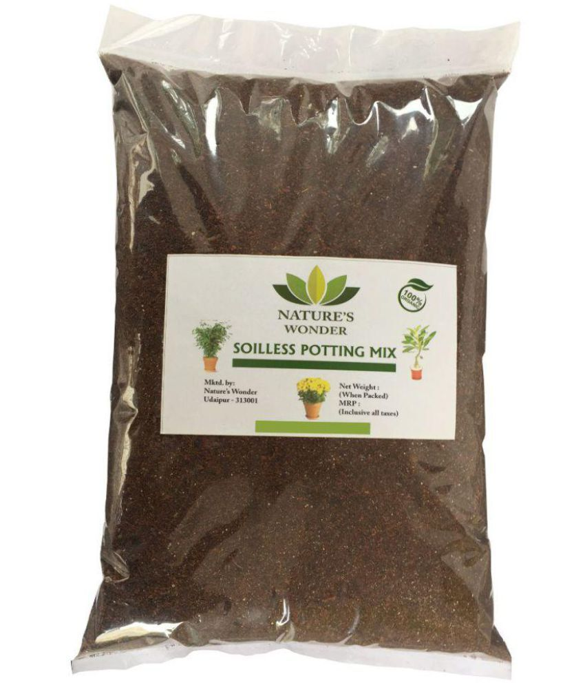 Nature's Wonder Soilless Potting Mix, Organic growing media Potting Soil 1 Kg: Buy Nature's Wonder Soilless Potting Mix, Organic growing media ...850 x 995 jpeg 93kB