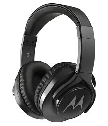 Motorola Motorola Pulse 3 Max Wired Headphones (Black) Over Ear Headset with Mic Black