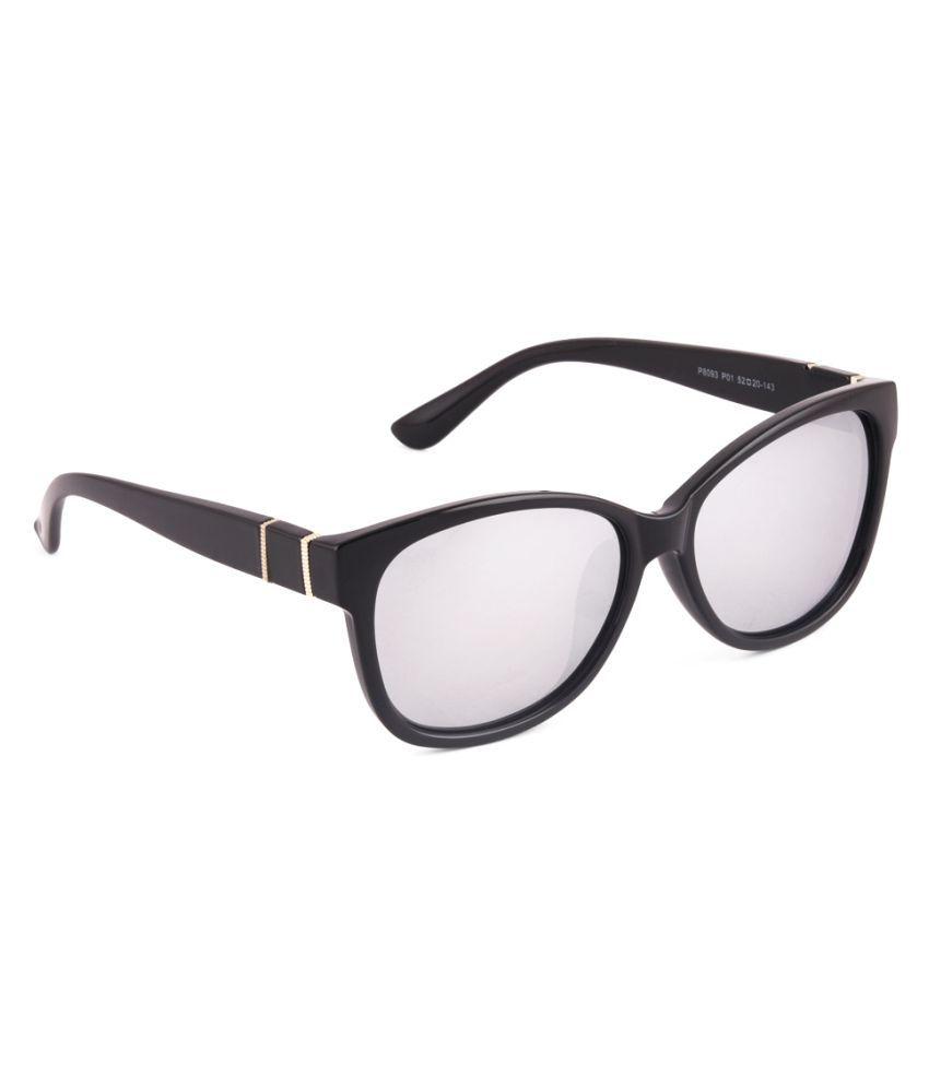 6by6 Silver Wayfarer Sunglasses ( 6B6SG2135 )