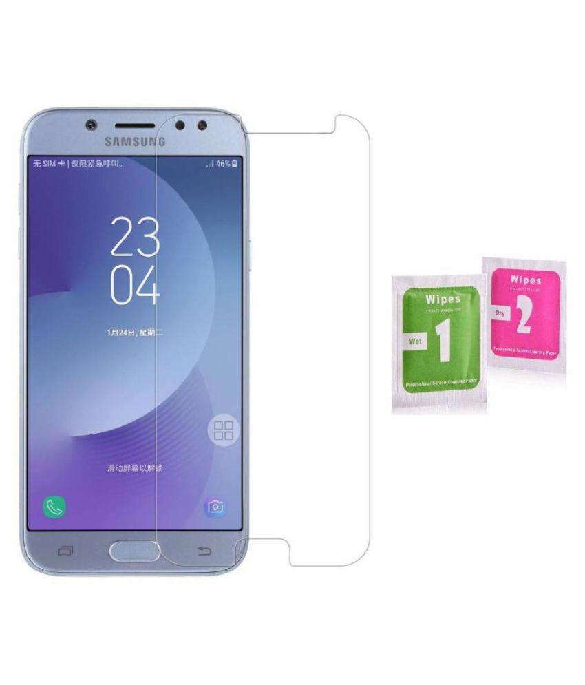 Samsung Galaxy J7 Tempered Glass Screen Guard By MAXX3D