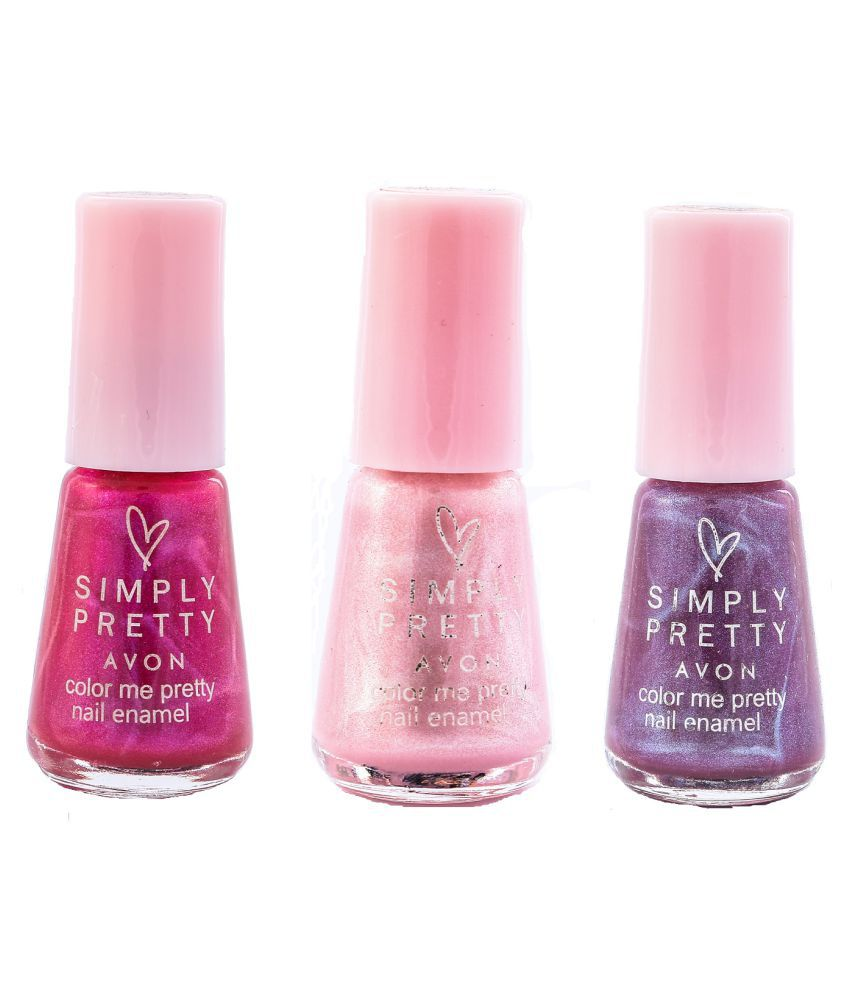Avon Pink Nail Polish: Pink Fantasy -Purple 15 Ml: Buy