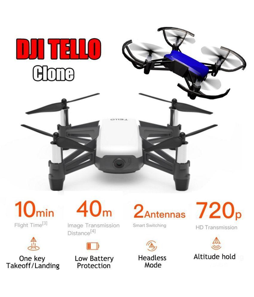 DJI Tello Clone!!! 720P WiFi FPV RC Drone Mini 3D Flips