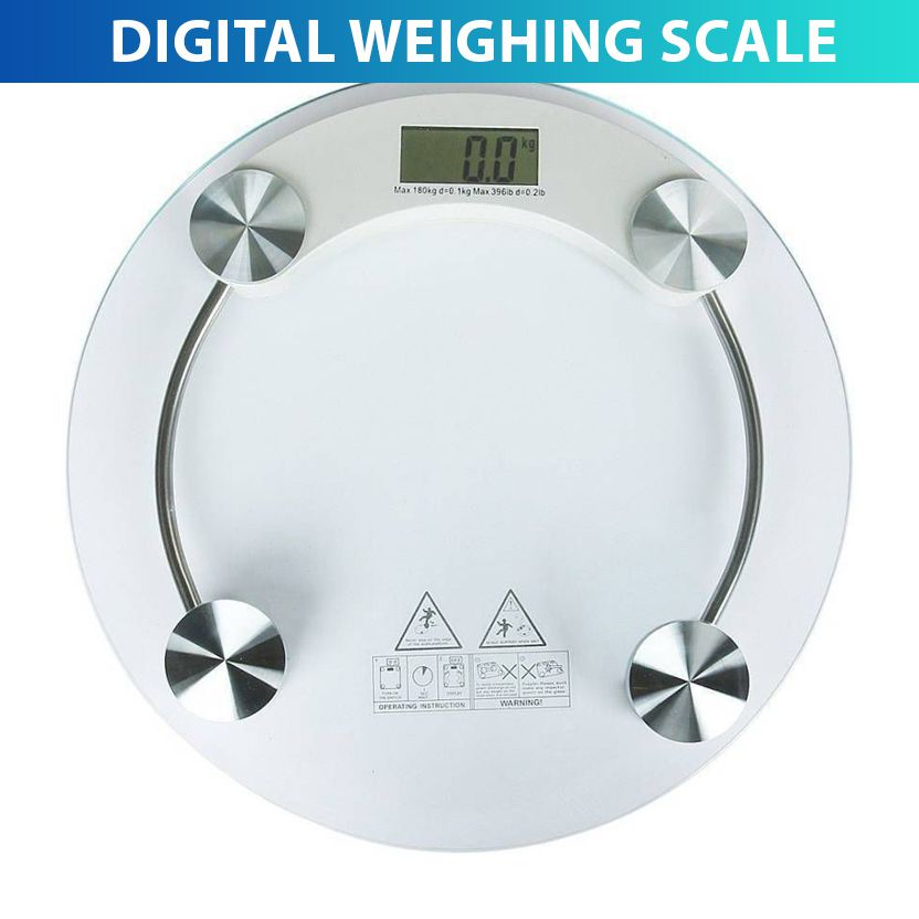 Akline Digital 8MM Thick Glass Weighing Scale 2003A