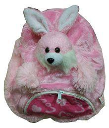 Tanshi Toys Kids School Bag Soft Plush Backpack Cartoon Rabbit, Children's Gifts Boy Girl/Baby/ Decor School Bag for Kids