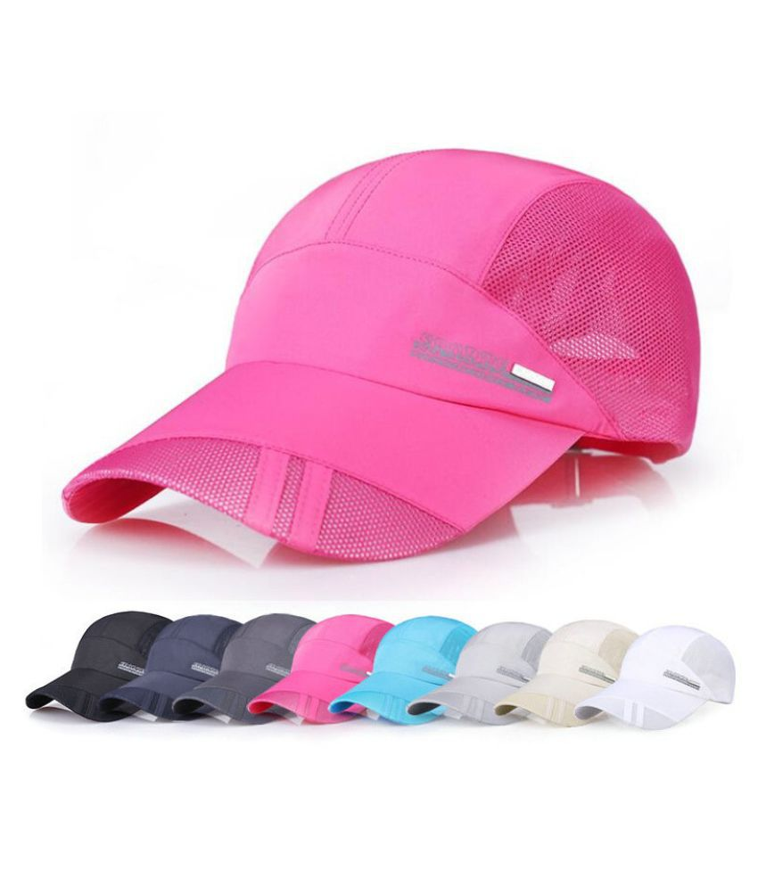 8 Colors Men Women Adjustable Sport Running Caps Outdoor Peaked Cap Summer  Sun Hat Breathable Mesh Hat Baseball Caps  Buy Online at Low Price in India  - ... 36bb7f2eef72