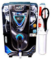 NEXUS PURE PLUTO Copper + Alkaline 10 Ltr RO + UV + UF + TDS CONTROLLER Water Purifier