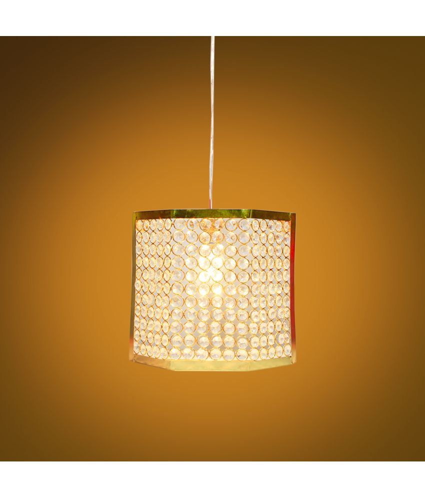 GIG Franch Crystal Wall Light Gold - Pack of 1