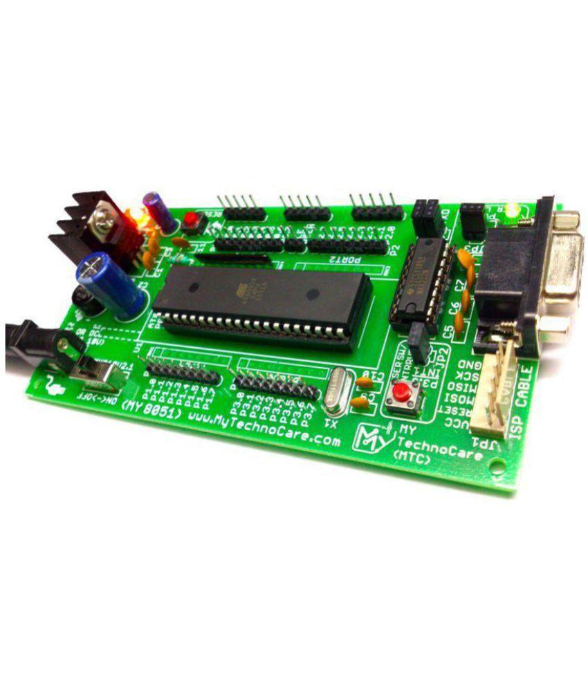 My Technocare Atmel 8051 Development Board Project Evaluation Kit Chip8051 Programmeratmel Programmer Circuitatmel Max232at89s52 Microcontroller Ic