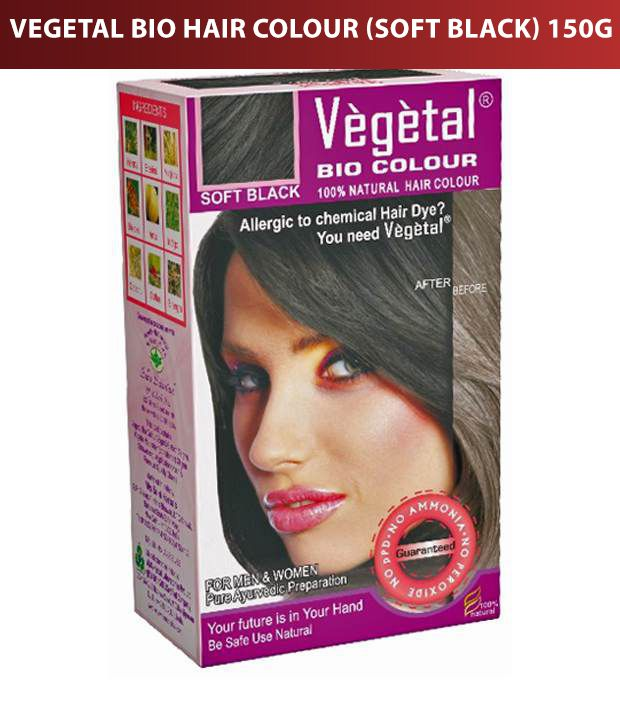 Vegetal Bio Hair Colour (Soft Black) 150G