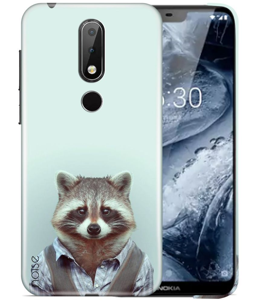 Nokia X6 Printed Cover By Noise