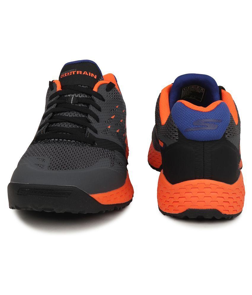 Skechers 54122 CCOR GO TRAIN ENDURANCE Gray Running Shoes