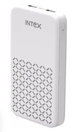 Intex 16k Poly 16000 -mAh Li-Polymer Power Bank White