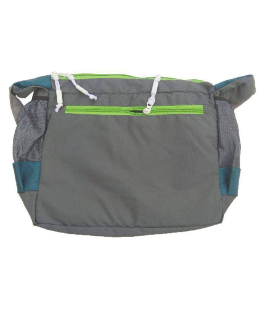 6565e004850e Nike Blue-Grey Polyester Side Messenger Bags For Men   Women - Buy ...