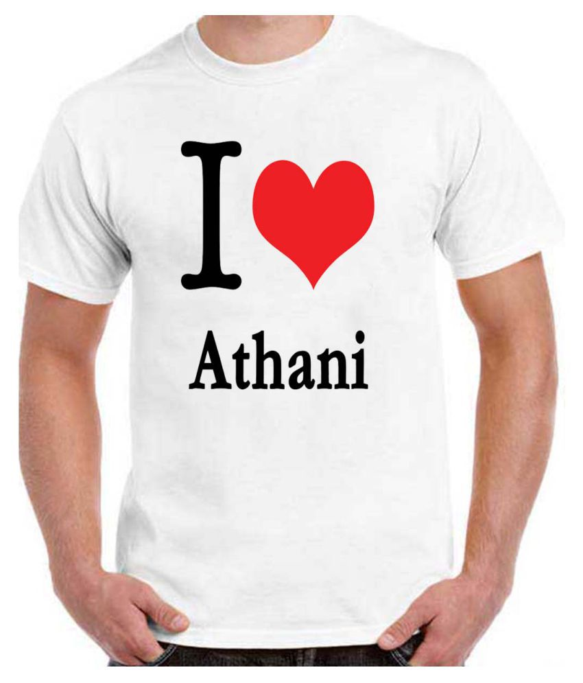 RITZEES White Dry-Fit Polyester Tshirt on I love Athani
