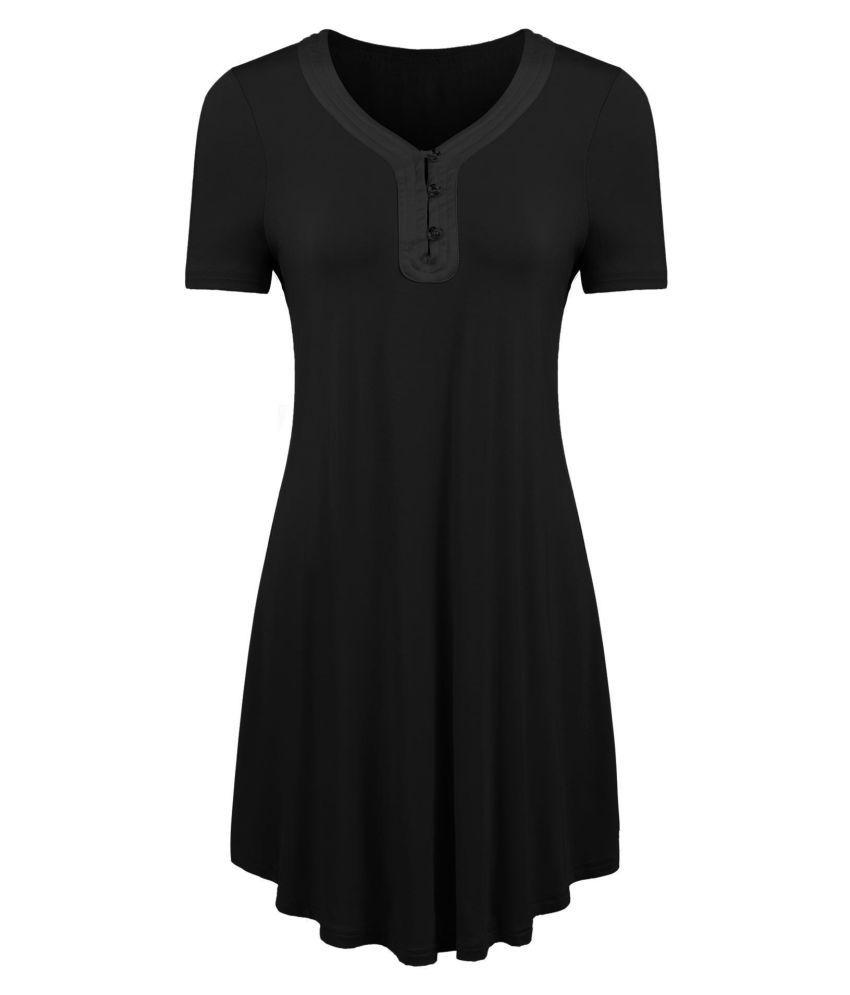 Generic Satin Pajamas - Black