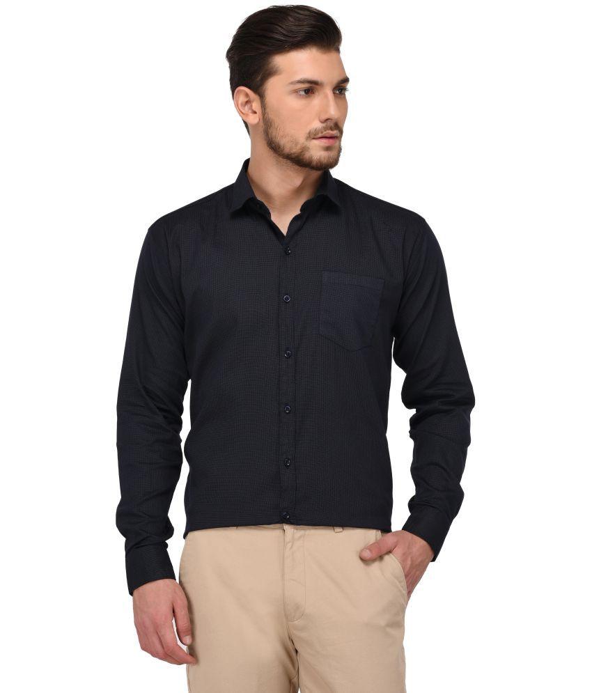 Jugend Navy Slim Fit Shirt