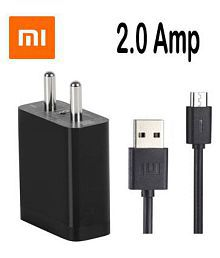 Xiaomi 2.1A Wall Charger 100% Original With Micro USB Data Cable For Redmi Note 4, Redmi note 5, note 5 pro, Redmi Y1, Redmi 4/4A, Redmi 5A, Redmi Note 3, Redmin 3S Prime, Redmi 3, Samsung, Oppo, vivo, Moto, Micromax