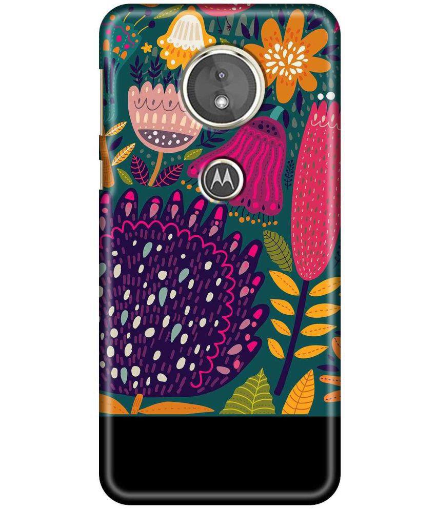Motorola Moto E5 Printed Cover By SWAGMYCASE