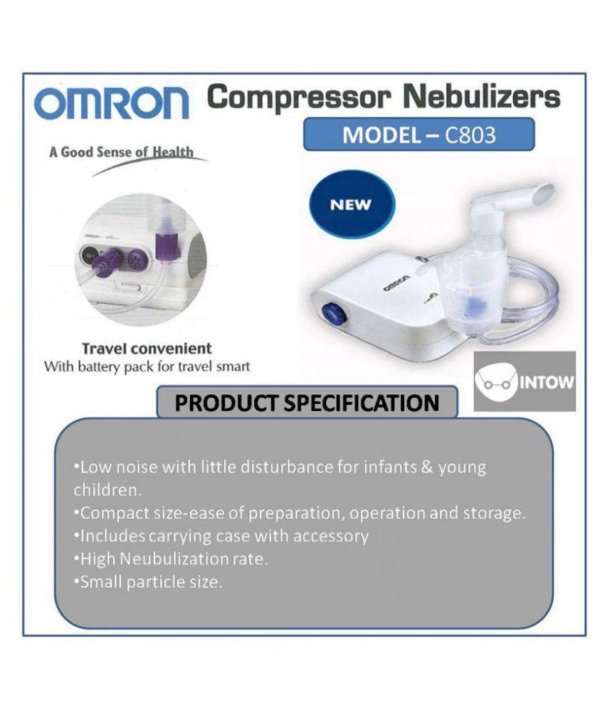 ... Omron Compresor Nebulizer NE C803