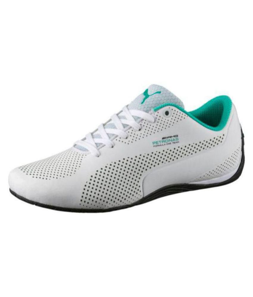 70b68c1179d Puma Mercedes AMG Petronas Drift Cat 5 Sneakers White Casual Shoes - Buy Puma  Mercedes AMG Petronas Drift Cat 5 Sneakers White Casual Shoes Online at  Best ...