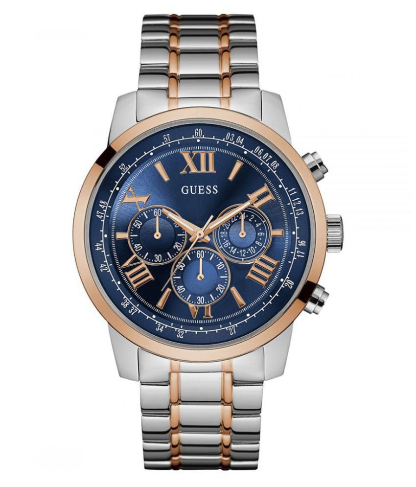 e8ede7e22c5 Guess W0379G7 Stainless Steel Chronograph - Buy Guess W0379G7 Stainless  Steel Chronograph Online at Best Prices in India on Snapdeal