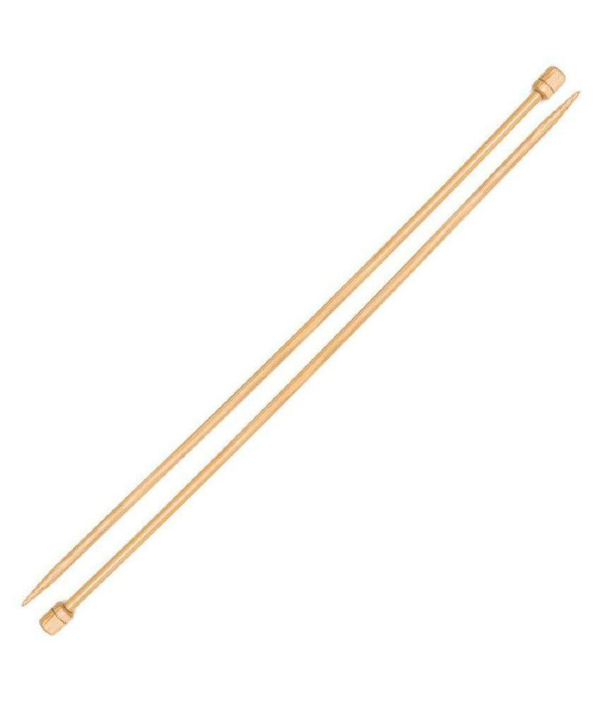 Pony Bamboo Long Knitting Needles Knit Pin Length 33cm, 3.50 mm