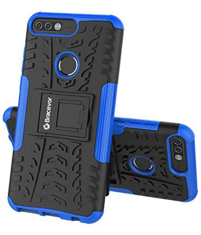 Huawei Honor 7C Cases with Stands Bracevor - Blue