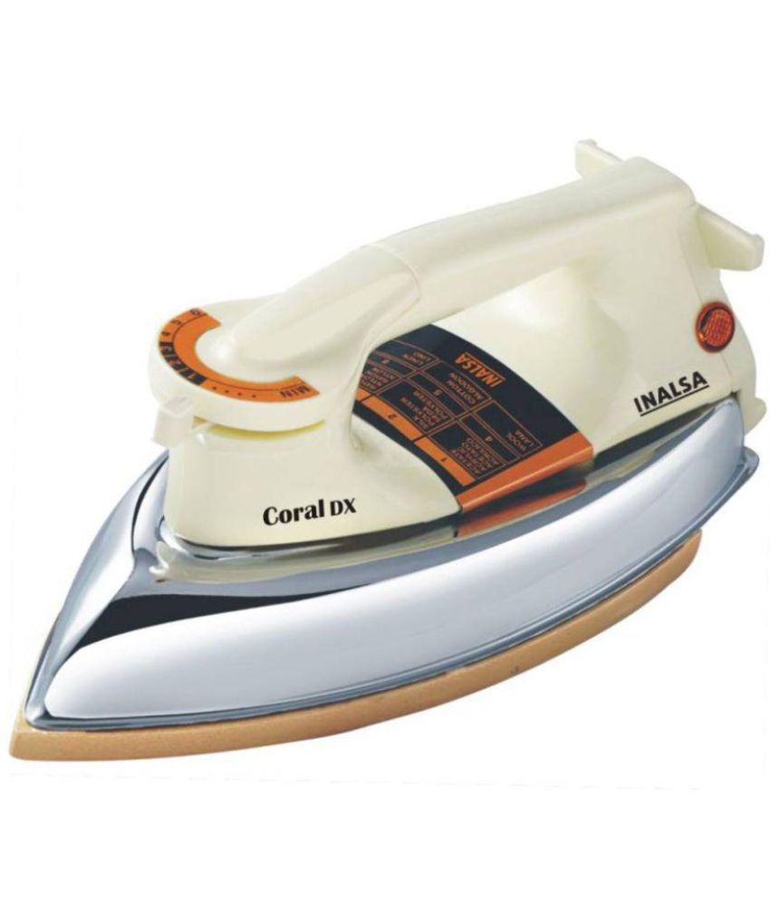 Inalsa Coral Dx Dry Iron White