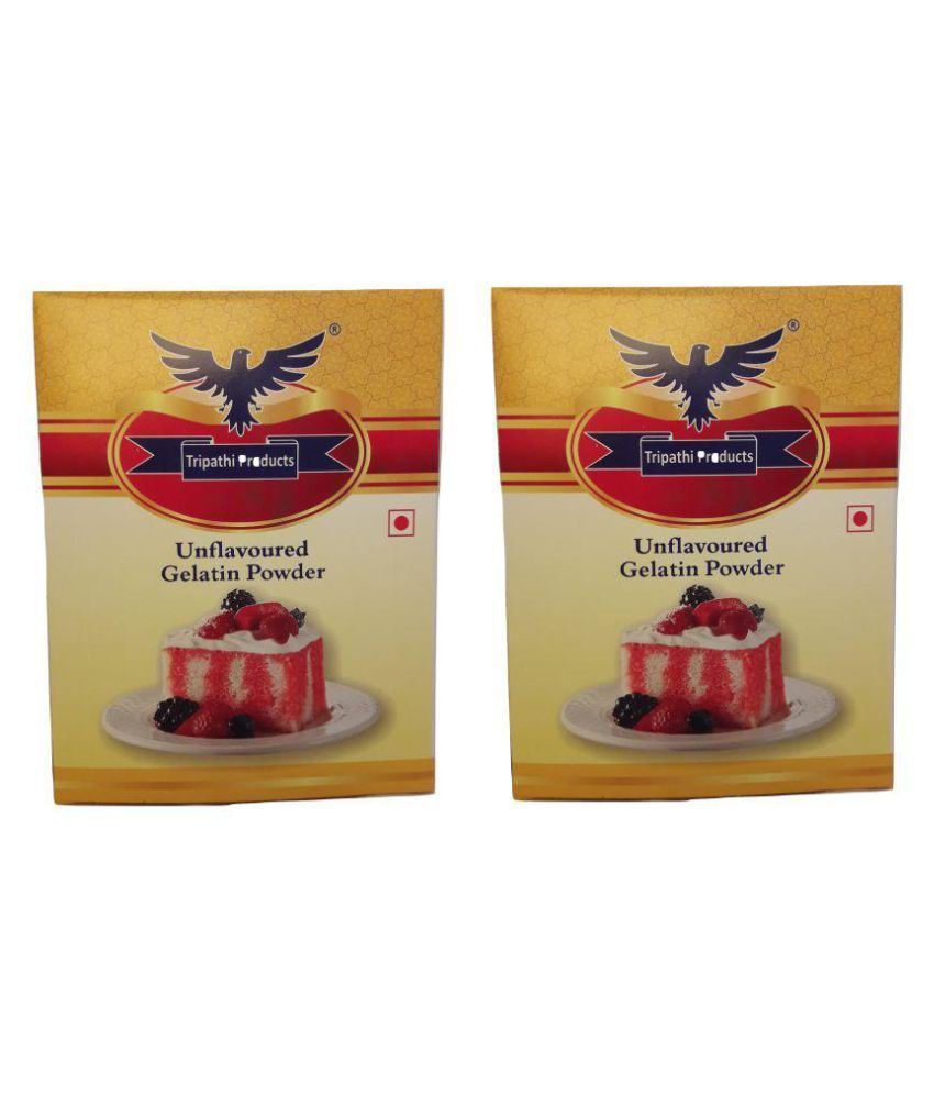 Tripathi Products Gelatin 100 gm Pack of 2