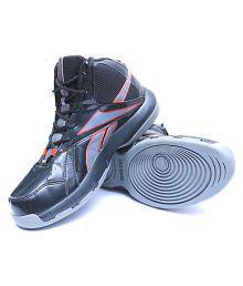 Reebok Hoops Mid Grey/ Black Running Shoes