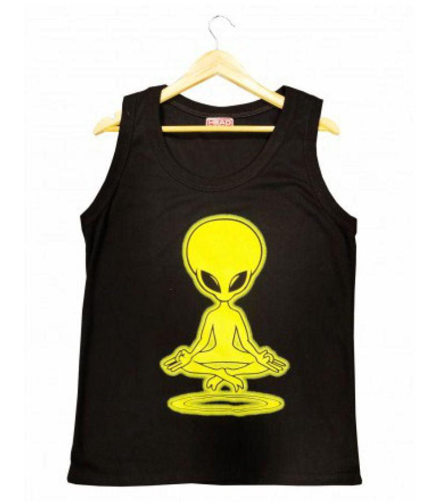 Phabdeals Fashion Black Round T-Shirt