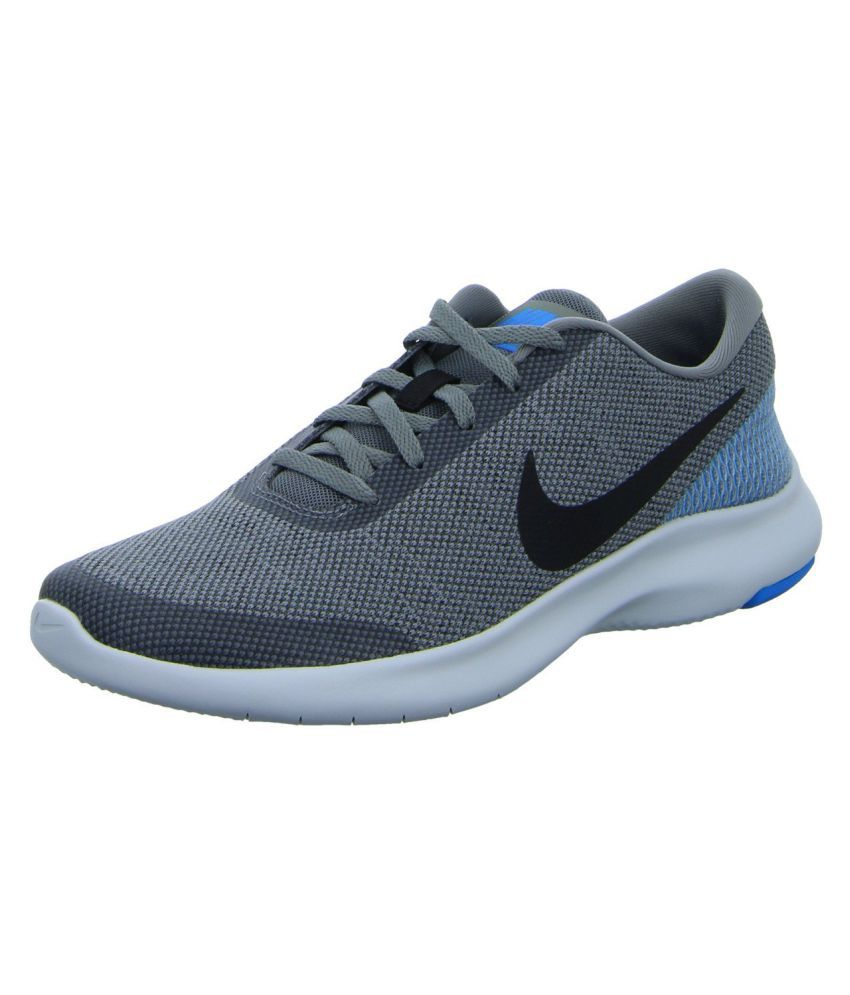 6792c406f2 Nike FLEX EXPERIENCE RN 7 Grey Running Shoes - Buy Nike FLEX EXPERIENCE RN 7  Grey Running Shoes Online at Best Prices in India on Snapdeal