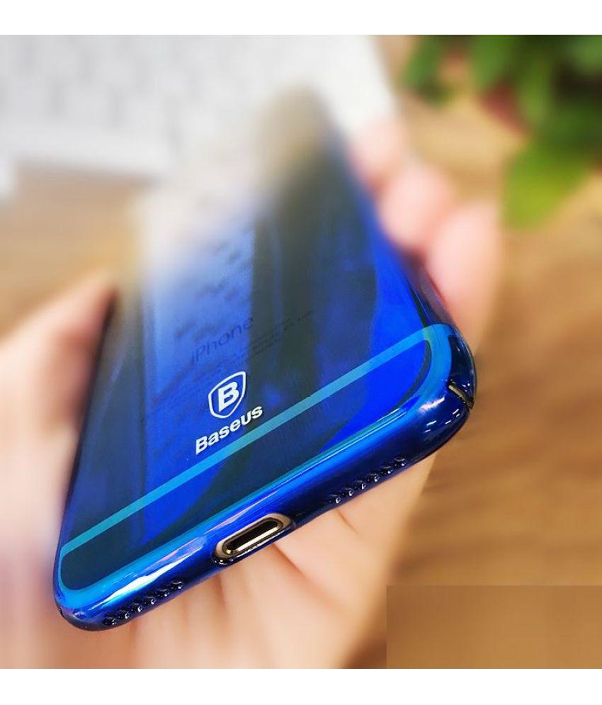 more photos 51e1f 5cda5 Samsung Galaxy J7 Max Mirror Back Covers ELEF - Blue Shining Series Case  One Angle One Color