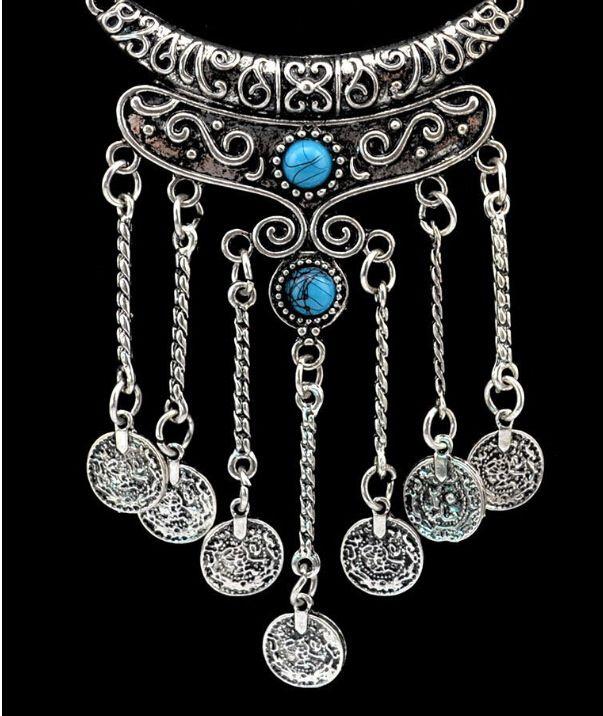 Kamalife Fashion Personality Wild Alloy Sweater Chain Jewelry For Women Populer