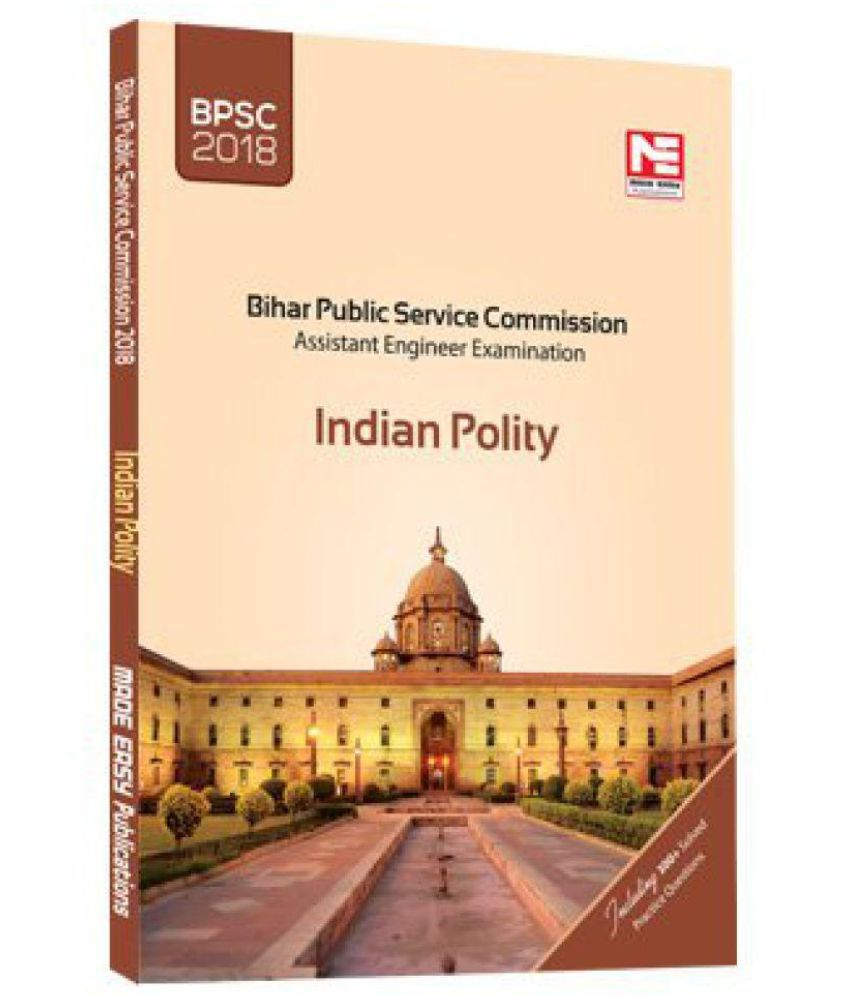 BPSC(AE) : Indian Polity Paperback
