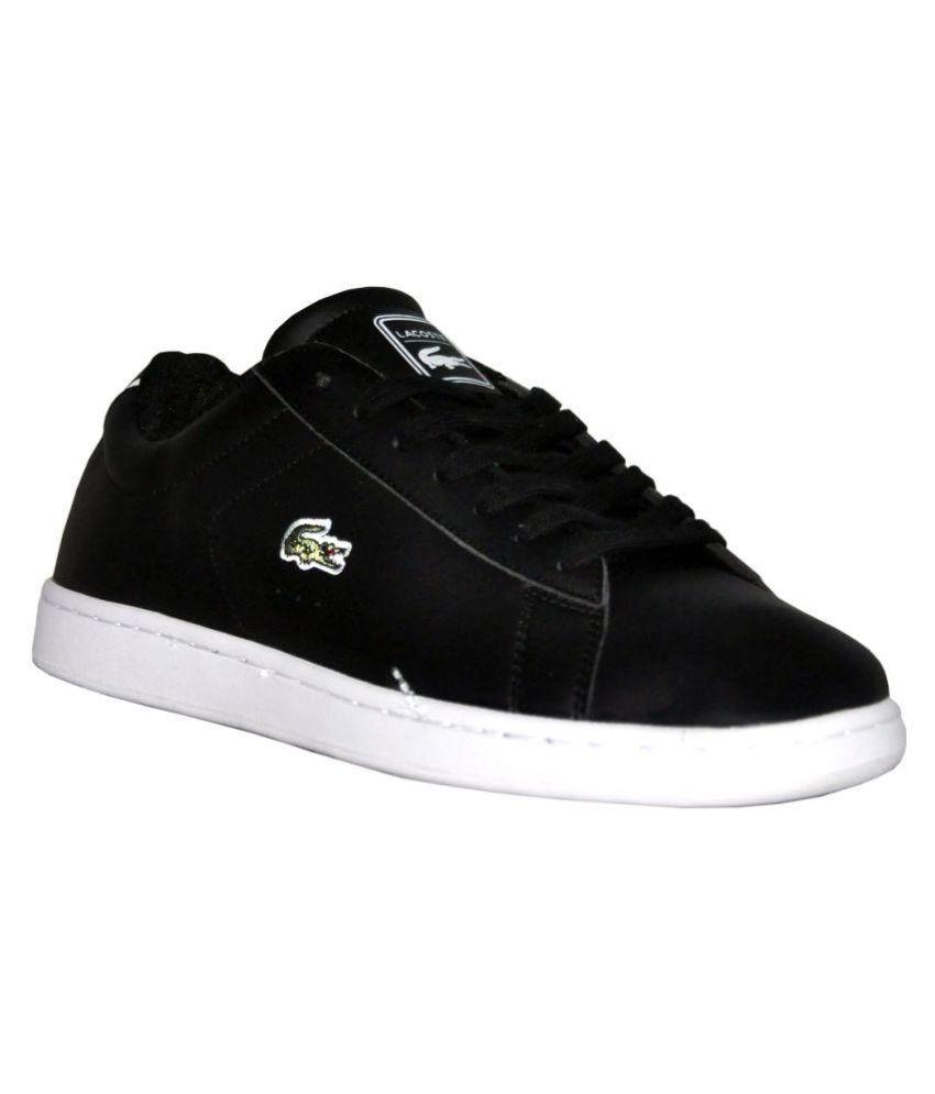 regarder 5504c d1031 Lacoste Sneakers Black Casual Shoes
