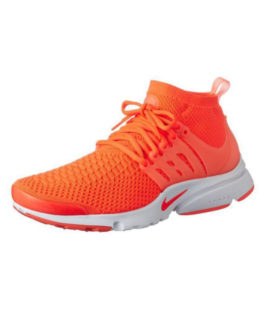 new products 3fc2d 1440c Nike Presto Orange Training Shoes - Buy Nike Presto Orange Training Shoes  Online at Best Prices in India on Snapdeal